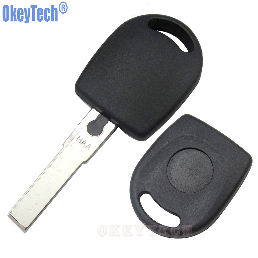Image 5 - OkeyTech 10PCS/LOT Blank Car Remote Key Shell For Volkswagen (VW) B5 Passat Transponder Key HU66 Blade Free Shipping-in Car Key from Automobiles & Motorcycles