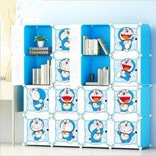 Детская мебель детские шкафы шкаф для хранения с героями мультфильмов простая сборка полимерный Шкаф Современная guarda roupa infantil Горячая