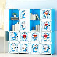 Children Furniture Children #8217 s Wardrobes Cartoon storage cabinet simple assembly Resin closet modern guarda roupa infantil hot cheap Ecoz actual Plastic