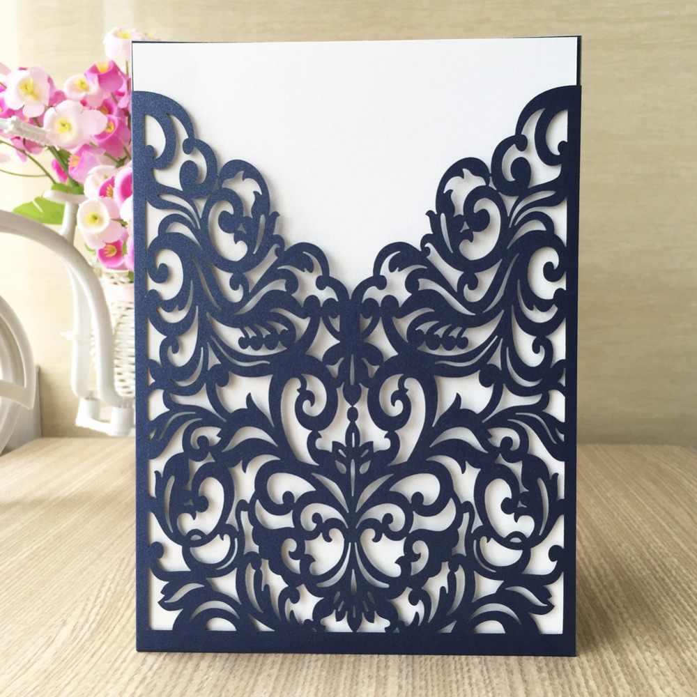 ... 20pcs lot free shipping Newest Laser Cut cards arabic dark purple  tiffany  blue wedding ... f93acacb2829