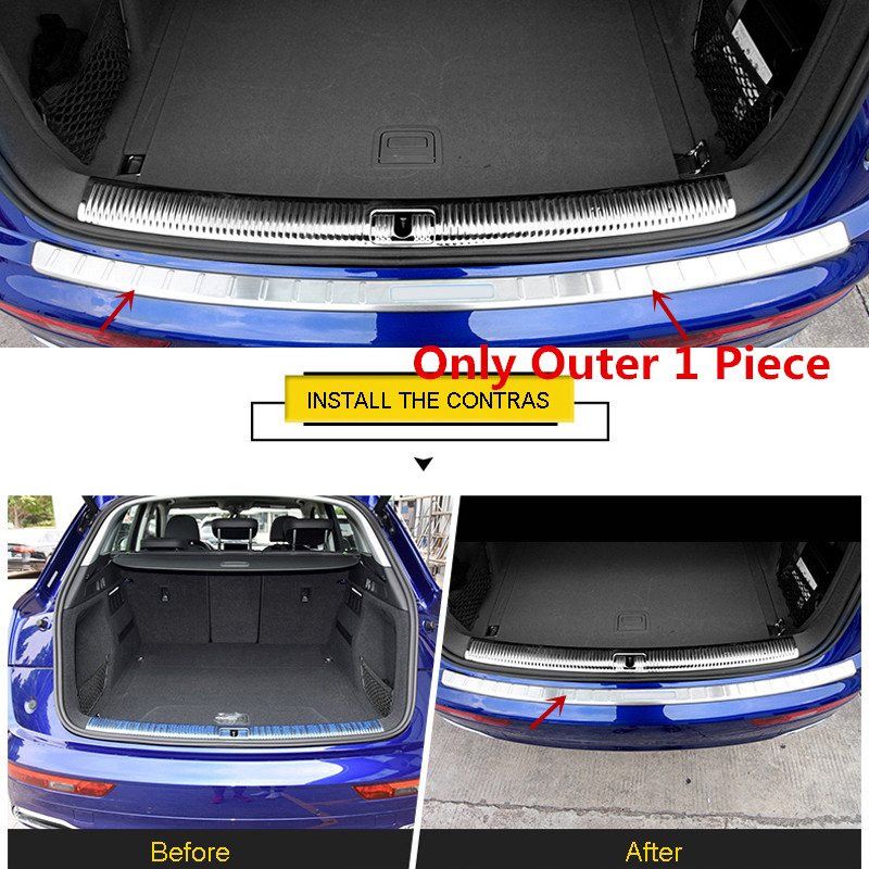 Aliexpress.com : Buy Car Accessories Rear Boot Bumper Guard Plate Protector Molding Stainless