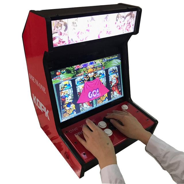 "14"" Table Top Arcade Cabinet 4"