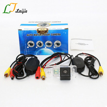 Laijie Rear View Camera For Audi A6 / S6 / RS 6 RS6 / A5 S5 Cabriolet / Auto Wireless HD CCD Wide Lens Angle Reversing Camera