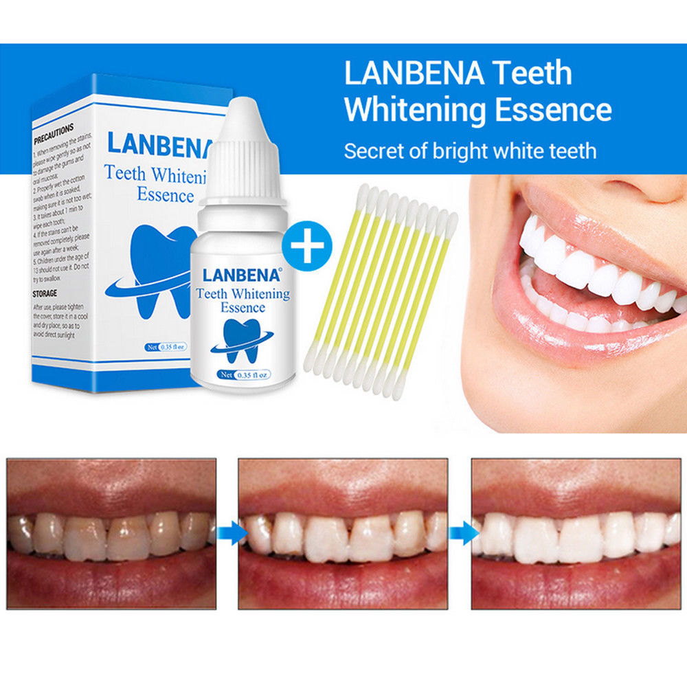 1 Conjunto Dental Higiene Oral Dentes Clareamento Essencia Po