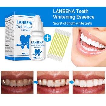 1 zestaw do wybielania zębów Essence Powder wybielacz Bleach Stain Dental higieny jamy ustnej z wacik seksowny uśmiech pielęgnacja zębów TSLM2