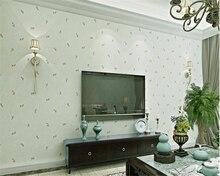 beibehang American pastoral nonwoven papel de parede wallpaper living room bedroom background wall walkway restaurant wall paper
