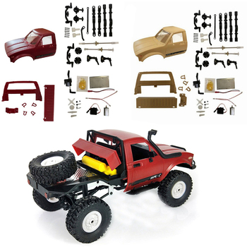 WPL C-14 DIY Kit 1:16 4wd RC Truck 2.4G Off Road Semi-truck Electric Racing Car Own Assembly Electric Racing Car DIY Kit