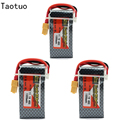 3pcs Bateria Lipo Li-Poly Battery 11.1V 1500Mah 3S 40C Max 60C XT60 Plug For RC Quadcopter Drone Helicopter Car Boat Airplane