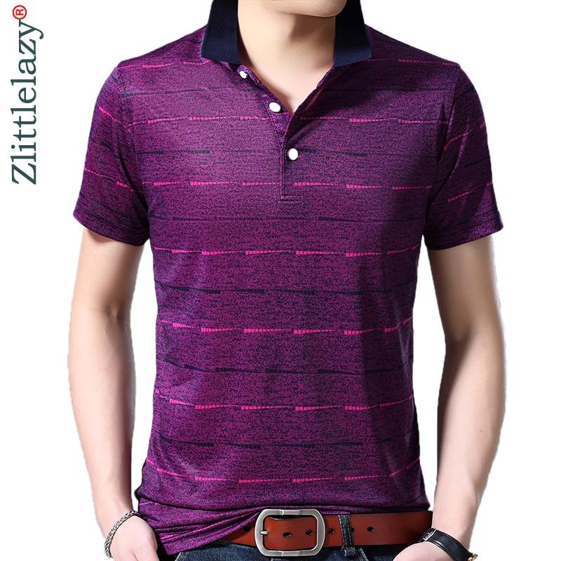 2019 brand casual summer striped short sleeve   polo   shirt men poloshirt jersey luxury mens   polos   tee shirts dress fashions 42211