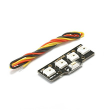 Toys & Hobbies 5v 1w Fpv Led Light Board Ws2812 Ten Models Lights Switch Color For Naze32 Cc3d Perfect Suitable For Zmr250 Qav250 Quadcopter Parts & Accessories