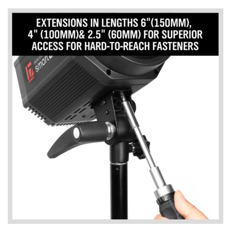 "Купить с кэшбэком 3Pcs 1/4"" Hex Rod Shank Long Handle Screwdriver Magnetic Bit Extensions Rod 3"" 4"" 6"" Quick Release Holder Tool Drill Bit"