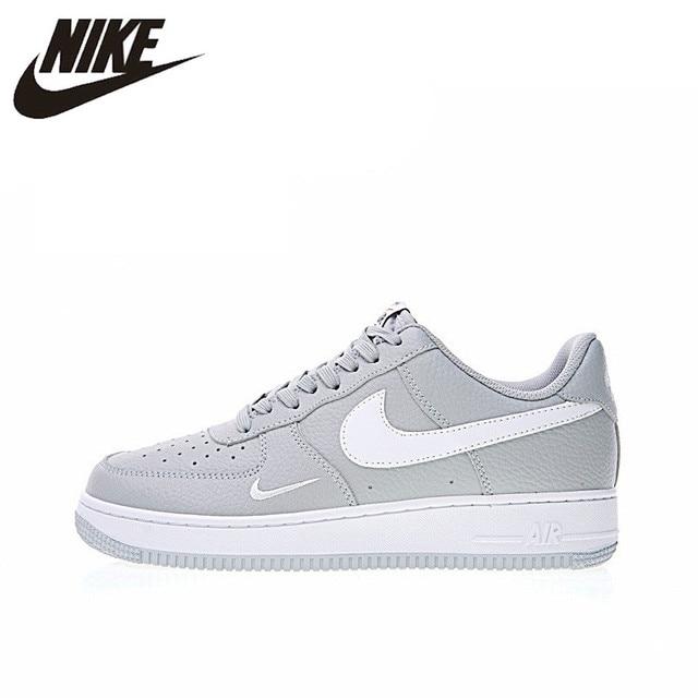 Nike Air Force 1 Low Mini Swoosh Men's Skateboarding Shoes Sport Outdoor Sneakers Footwear Designer Athletic 2018 New 820266