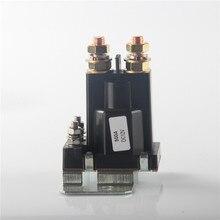 12V/24VDC 500A Amp 4 Pin Startrelais Op/Off Auto Auto Schakelaar Plastic Dubbele Batterijen isolator Voor Heftruck Techniek