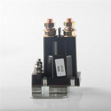 12v/24VDC 500Aアンプ 4 ピン開始リレーのon/オフ車の自動電源スイッチプラスチックダブル電池フォークリフトエンジニアリングためアイソレータ