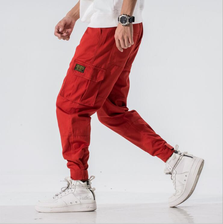 Aelfric Eden Man Jogger Camouflage Side Pockets Loose Style Men's Sweatpants Fashion 2019 High Street Casual Pants 3 Colors