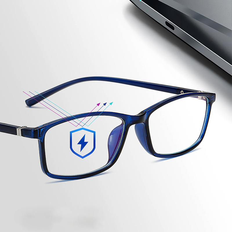 New Blue Ray Computer Glasses Men Women Screen Radiation Eyewear Office Gaming Blue Light Goggle UV Blocking Eye Spectacles in Women 39 s Blue Light Blocking Glasses from Apparel Accessories