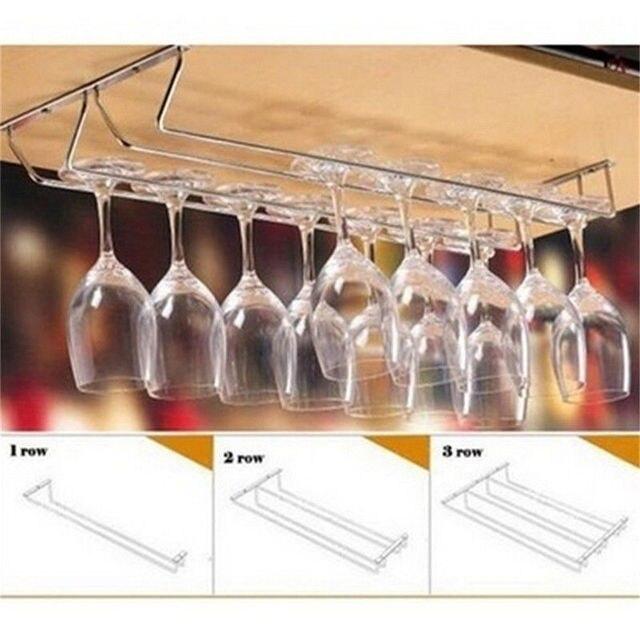 Wine Cup Wine Glass Holder Hanging Drinking Glasses Stemware Rack