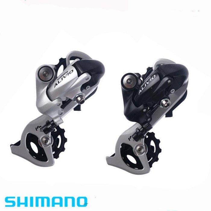 Shimano Alivio RD-M410 6//7//8 Speed  MTB Bicycle Bike Rear Derailleur Silver US