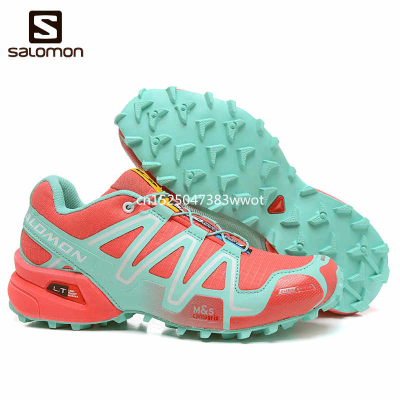 pretty nice c2906 8896f Detail Feedback Questions about 2018 Newest Salomon Speed Cross 3 CS III Women  Shoes Outdoor Woman Sneakers Zapatos De Mujer Female Running Shoes Free ...