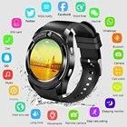 <+>  Водонепроницаемый Смарт-Часы Мужчины с Камерой Bluetooth Smartwatch Шагомер Монитор Сердечного ритма ✔