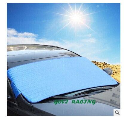 Aluminiumfolie 150*70 cm auto zonnescherm car window zonnescherm auto gordijn UV Beschermen Auto Film auto gordijn cortina para automoveis