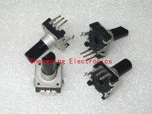 50pcs EC12 E12 ตัวเข้ารหัสเสียง/360 องศา ROTARY Encoder ขาตั้งกล้อง
