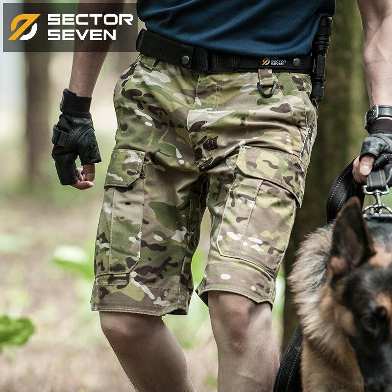 2019 ฤดูร้อนใหม่ Mens camouflage ยุทธวิธี Cargo กางเกงขาสั้นชาย silm ทำงานกางเกงขาสั้น Man Army ทหารสั้นกางเกง-ใน กางเกงขาสั้น จาก เสื้อผ้าผู้ชาย บน AliExpress - 11.11_สิบเอ็ด สิบเอ็ดวันคนโสด 1