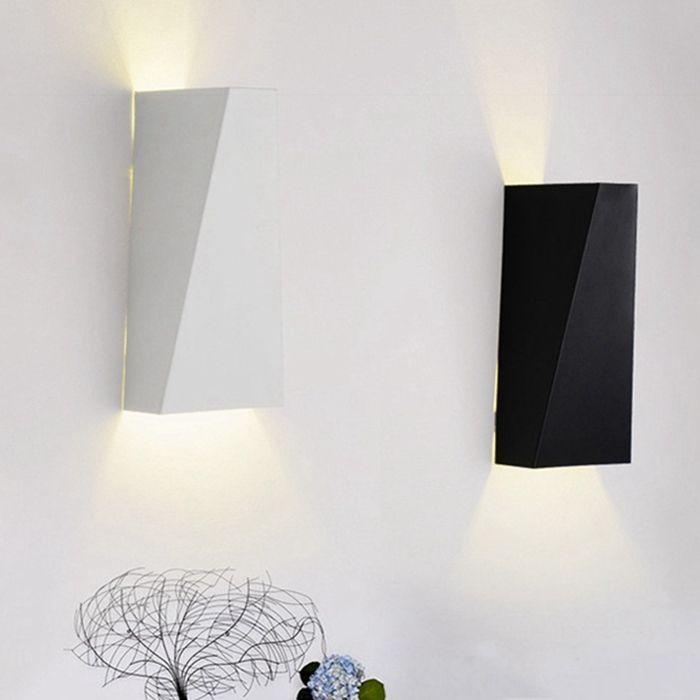 Brand New Modern Led Wall Lights For Bedroom Study Room Metal Acrylic 8W Home Decoration Wall Lamp Bulb Included Free Shipping 2016 new modern fashion free shipping multi color acrylic sunflower led wall lamp for bedroom hallway corridor