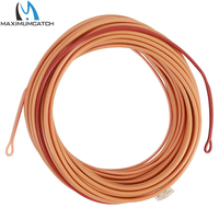 Maxctch 23FT 550g Shooting Head Fly Line With 2 Welded Loops Double Color Floating Fly Line