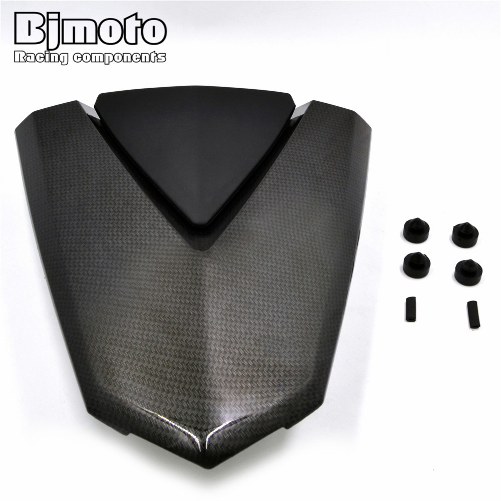 BJMOTO R3 R25 Motorcycle Rear Pillion Seat Cowl Fairing Cover For Yamaha Yzf R3 2015 2018 Yzf R25 2013 2018 R3 ABS 2017 2018 in Covers Ornamental Mouldings from Automobiles Motorcycles