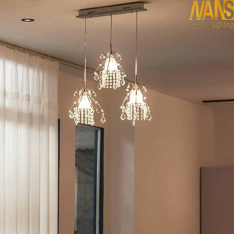 لوسترهای لوستر کریستالی لوستر NANS مدرن - روشنایی داخلی