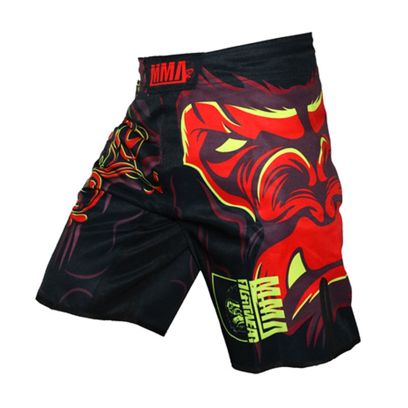 MMA Fitness Fighting Pants Martial Arts Shorts Sports Men/'s Clothing Gorilla