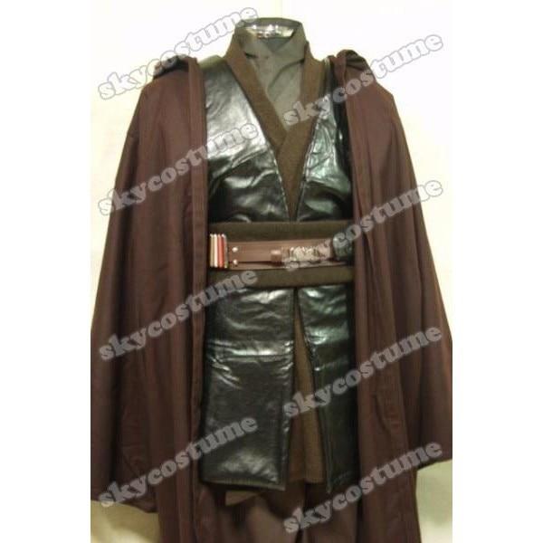 Žvaigždžių karai Anakin Skywalker Cosplay kostiumas Karštas filmas Drabužių rūbų drabužis Helovinas Cosplay Full Set