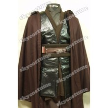 Star Wars Anakin Skywalker Cosplay Costume Hot Movie Clothe Cloak Robe Halloween Cosplay Full Set