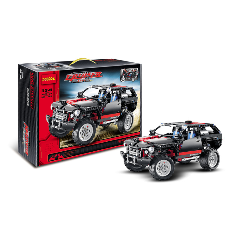 ФОТО decool 3341 technic extreme cruiser block brick toy set boy game car off roader compatible with lepin sluban bela 8081 kids toys