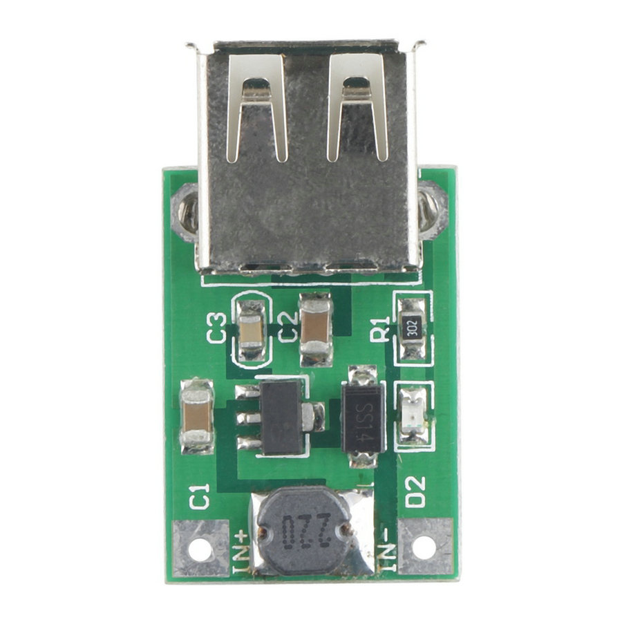 1pc DC-DC Converter Step Up Boost Module 2-5V to 5V 1200mA 1.2A for iphone Top Sale