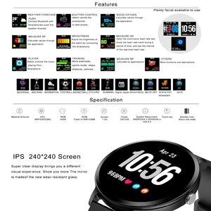 Image 3 - V11 Smart Horloge Mannen Reloj Inteligente Activiteit Fitness Tracker Hartslagmeter Smartwatch IP67 Waterdicht Polsbandje Horloge