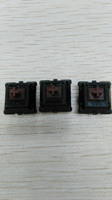 40pcs/lot Original TTC tea shaft keyboard switch