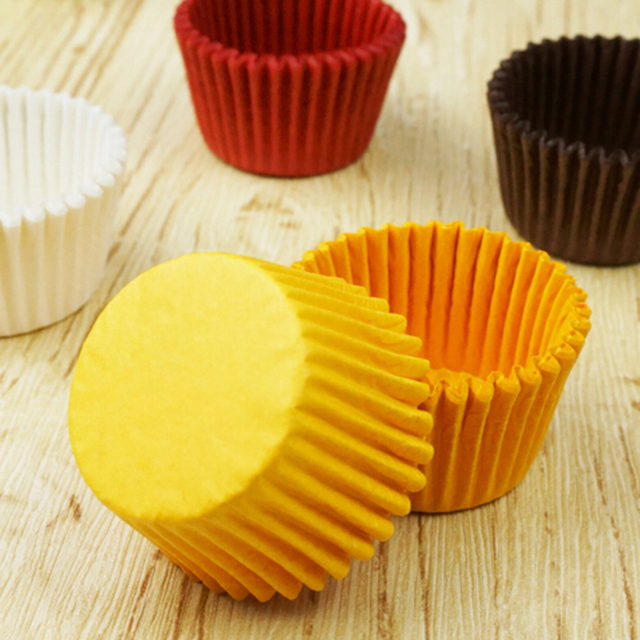480PCS Paper Cupcake Liner Cake Stencils Baking Cups Cake Stand ...