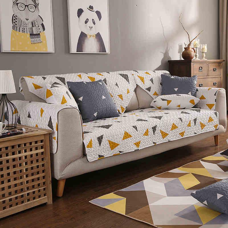 12 Farben Kreative Geometrie Hochwertigen Dekorative Sofa Abdeckung Modernen Bestndig Schonbezug Sitz Couch Wohnzimmer