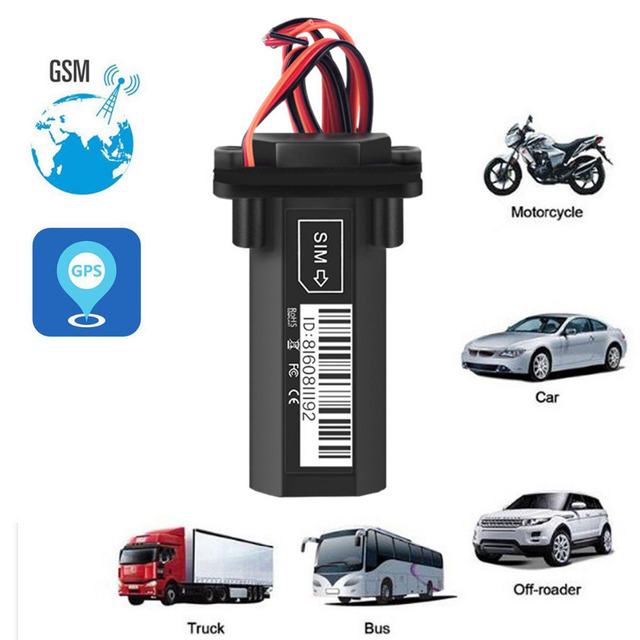 Vehicle Tracking System >> Waterproof Builtin Battery Gsm Gps Tracker For Car Motorcycle
