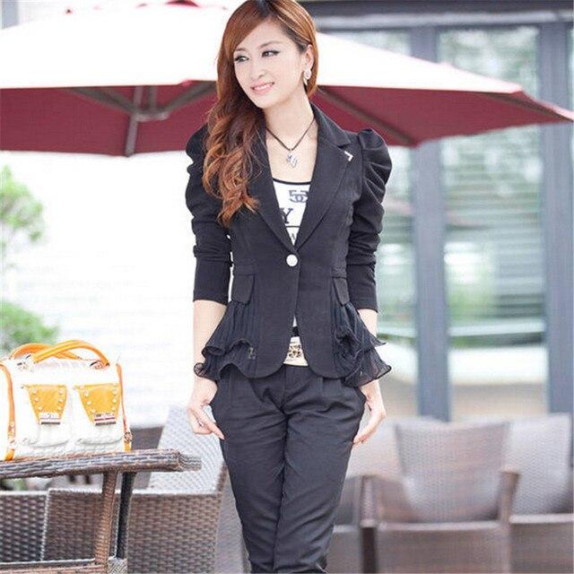 Осень женские пиджаки и куртки женский сладкий костюм верхняя одежда 4 цвета женщины пиджак Femininas топы Большой размер S-6XL C1329