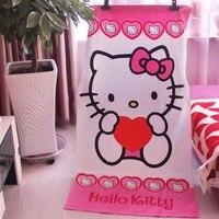155*75 cm Bonito Dos Desenhos Animados de Algodão Olá Kitty Crianças Toalha de Banho Toalhas de Banho Chuveiro Viagem Swim Spa toalhas de Praia para Crianças E Adultos
