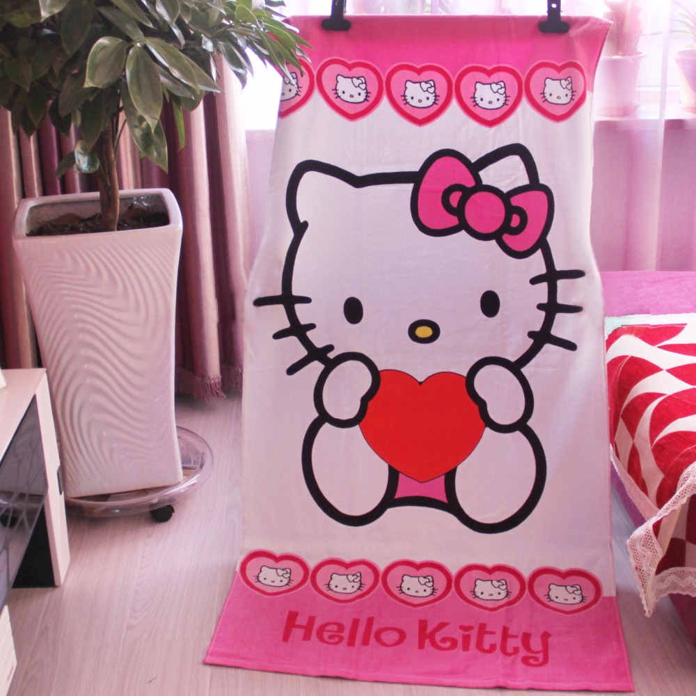 Buy Hello Kitty Towel Showers And Get Free Shipping On AliExpresscom
