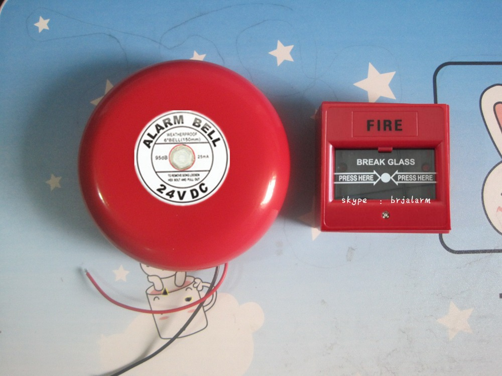 DC24V Fire alarm bell  Glass breaking detector,call point