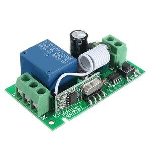 Image 2 - Leory inteligente sem fio rf controle remoto receptor dc 12v 220v 10a 1 ch 315/433mhz interruptor de relé melhor