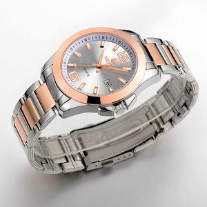 Image 3 - MEGIR מקורי גברים שעון נירוסטה עסקים קוורץ שעונים לוח שנה שעון יד שעון גברים Relogio Masculino