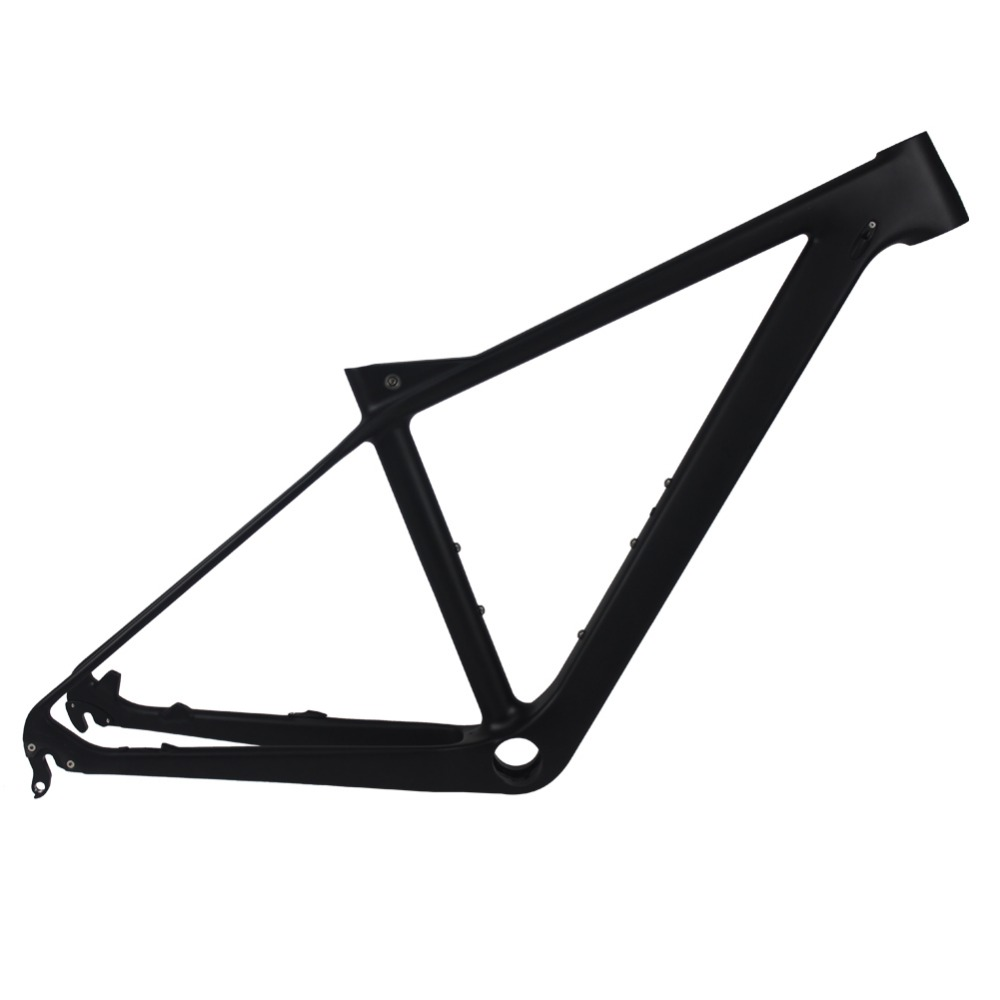 Smileteam New Carbon MTB Frame 27.5er Mountain Bicycle frameset 650B 135*9mm Carbon Frame UD Matte or Glossy Frame+Headset+Clamp smileteam new 27 5er 650b full carbon suspension frame 27 5er carbon frame 650b mtb frame ud carbon bicycle frame