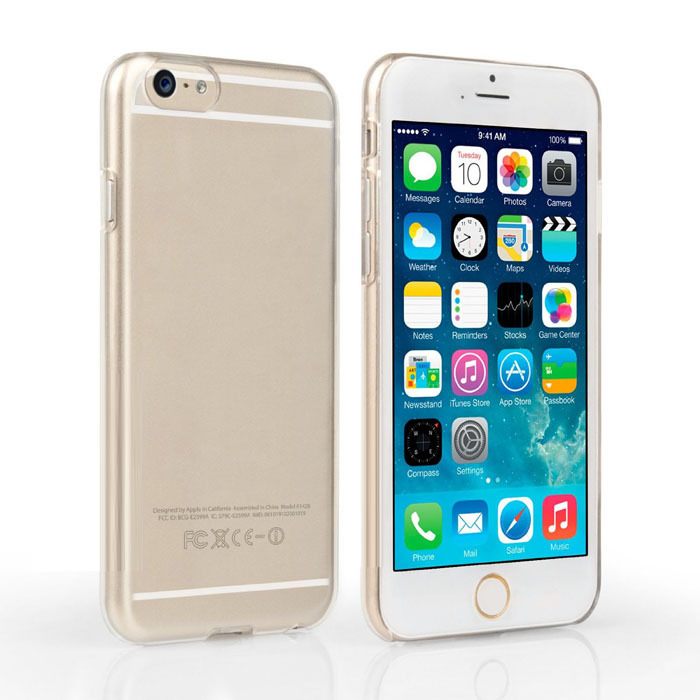 Ultratunn hård plastfodral för iPhone 5 5S SE 6S 6 plus 5C 4 4S PC - Reservdelar och tillbehör för mobiltelefoner - Foto 2