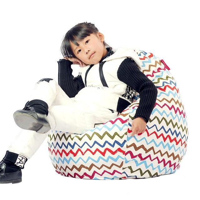 childrens bean bag chairs chair covers leicester luckysac children s beanbag single tatami sofa fabric cute cartoon personality